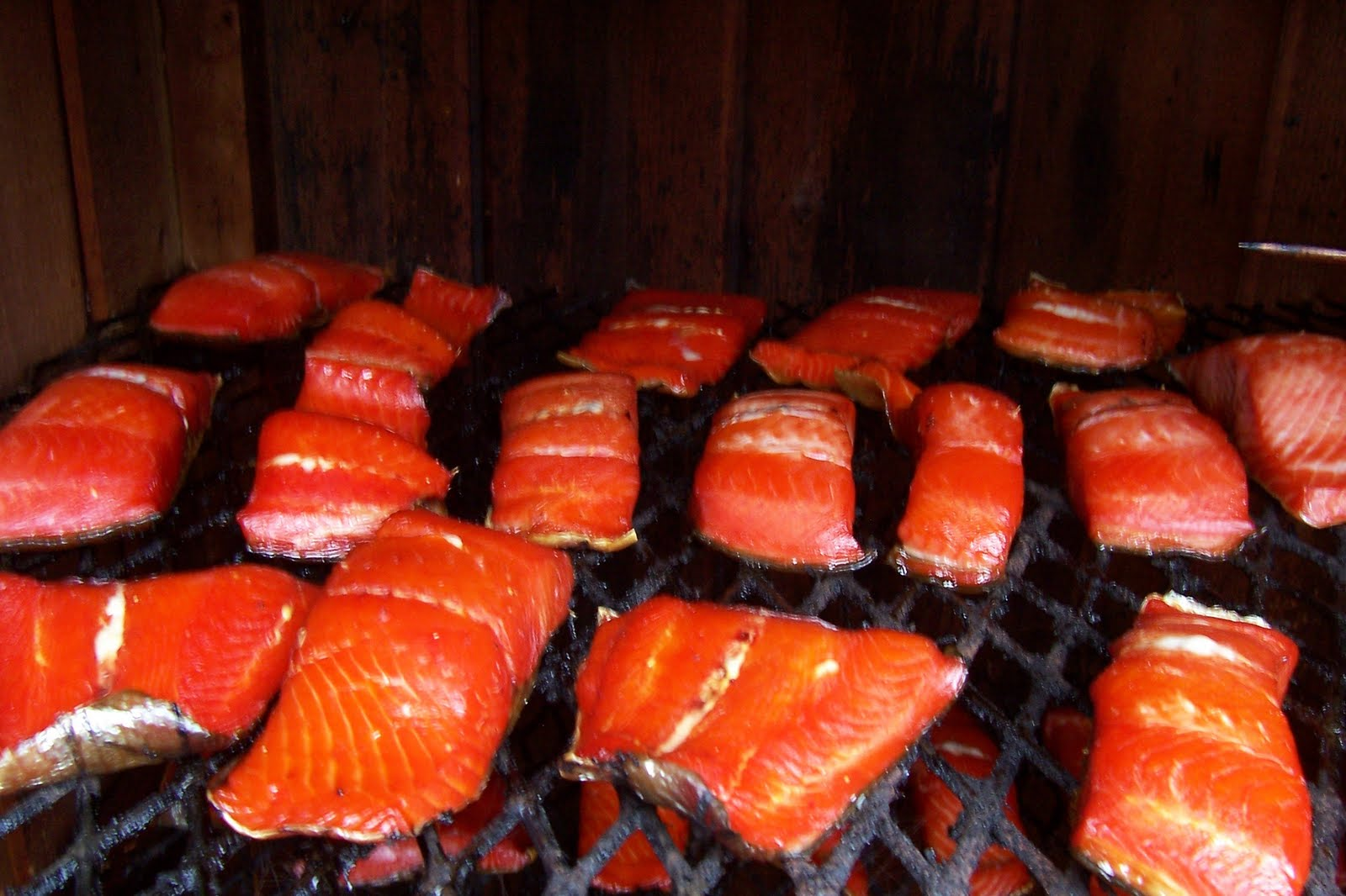 Beaver creek cabins guide service how to smoke salmon for How to smoke fish