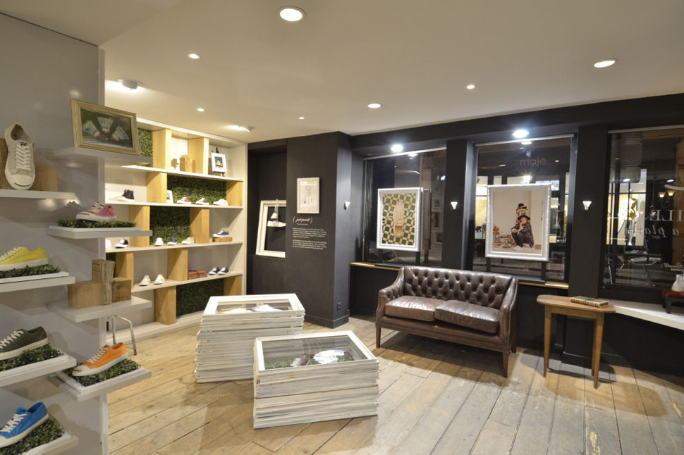 converse jack purcell pop up store in paris 2011 sneaker addiction. Black Bedroom Furniture Sets. Home Design Ideas