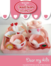 Sweet heart tea party set
