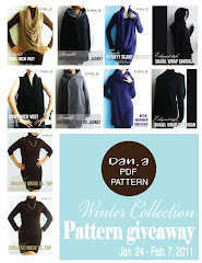 Dan. A Winter Collection Pattern Giveaway!