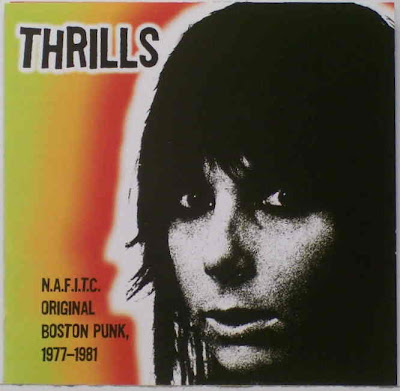 Cover Album of Thrills - N.A.F.I.T.C. - Original Boston Punk 1977-1981 (2004)
