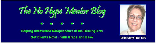 the No Hype Mentor Blog
