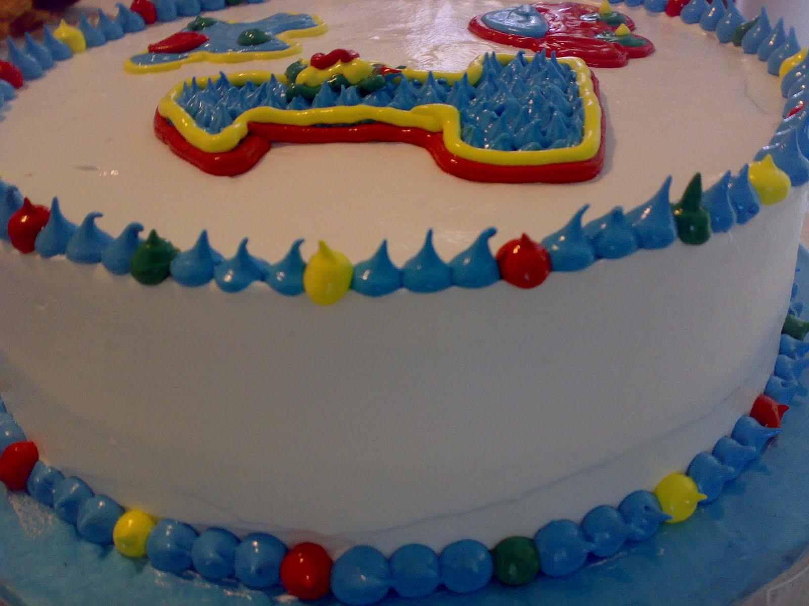 Pastel boutique por lina sanchez pastel de un primer - Bizcocho cumpleanos para ninos ...
