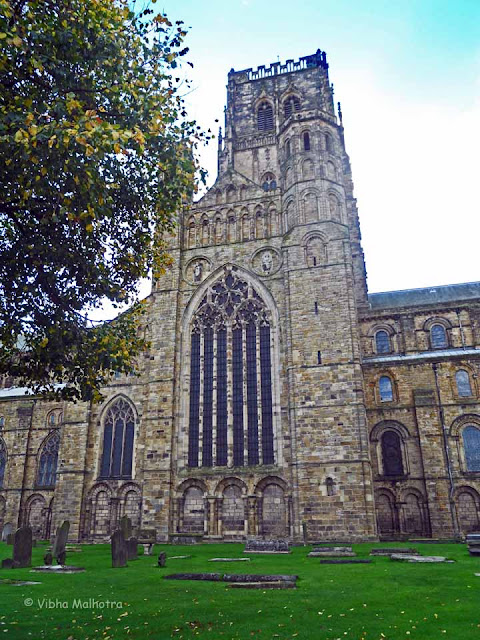 The Main Tower of the Durham Cathedral