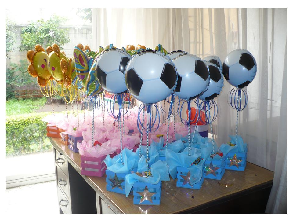 Centros mesa diferentes personajes decoracion con globos - Decoracion mesa centro ...