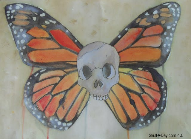 day of the dead skull. Day Dead Skull Tattoos