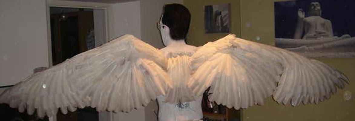 Как сделать крылья как у ангела