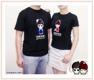 Viwawa Couple T-Shirt