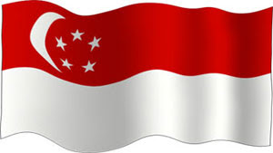 Singapore National Flag Picture on Credit  The Malaysian And Singapore Society Of The University Of