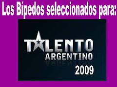 Los Bípedos seleccionados para Talento Argentino 2009