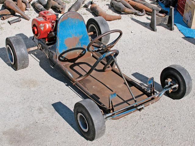 Vintage go kart photos