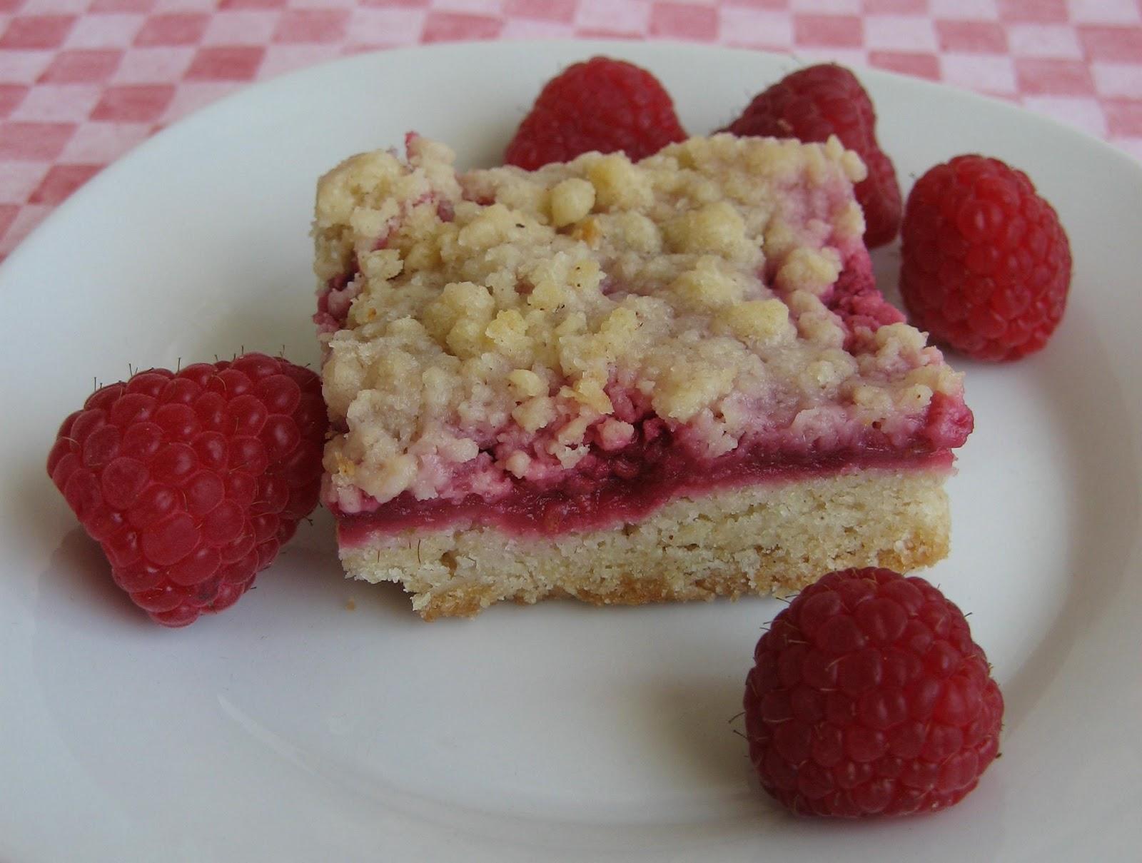 Burn Me Not: Raspberry Crumb Bars