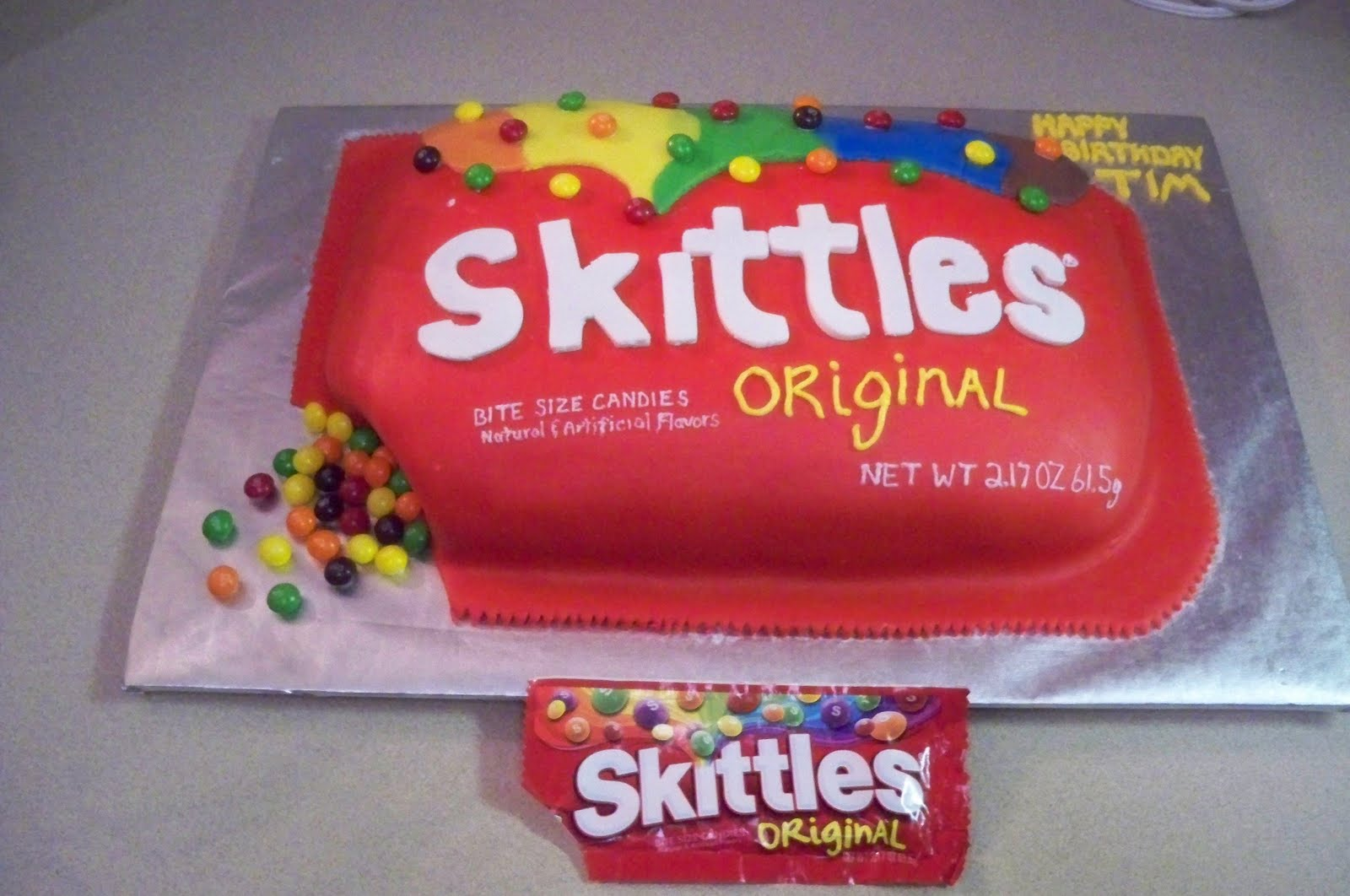 Cake recipes with skittles
