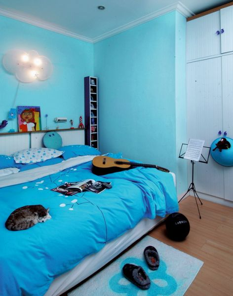 Pengaruh warna untuk kamar tidur Modelminimalis.info
