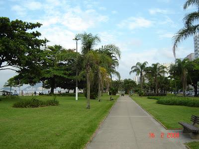 Jardins das Praias de Santos. Free Picture by Emilio Pechini