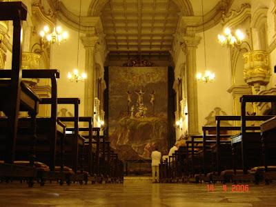 Tela de Benedicto Calixto exposta na Semana Santa de 2006 na Igreja do Convento do Carmo - Santos - SP - foto de Emilio Pechini - clique aqui para ver a foto no Panoramio.com