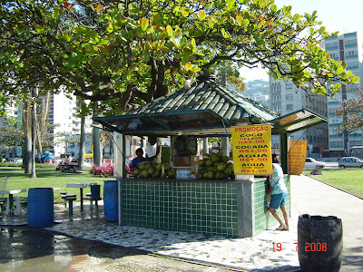 Quiosque da Praia de Santos - foto de Emilio Pechini