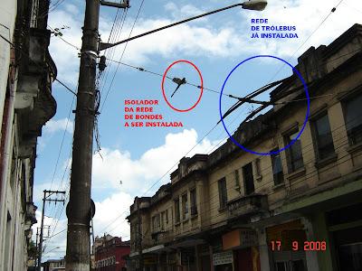 Rua Brás Cubas em Santos - SP - Foto de Emilio Pechini em 17/09/2008
