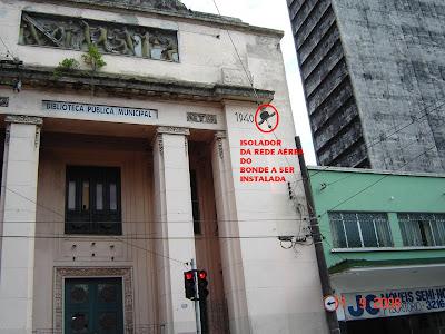 Rua Amador Bueno em Santos - SP - Foto de Emilio Pechini em 17/09/2008