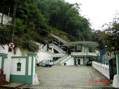 Estação de Bondes do Monte Serrat - foto de Emilio Pechini
