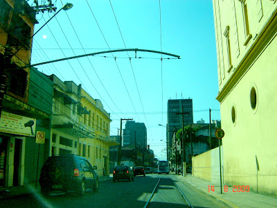 Rua Bras Cubas - Santos, Brasil - foto de Emílio Pechini em 14/08/2009