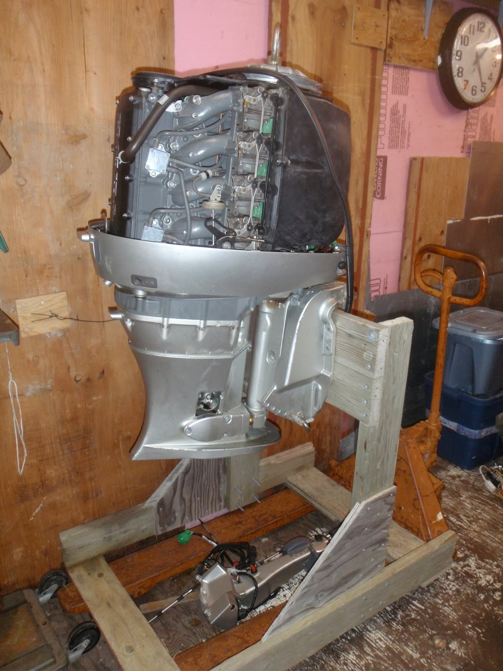 What 39 S In The Shop Honda 90 Outboard