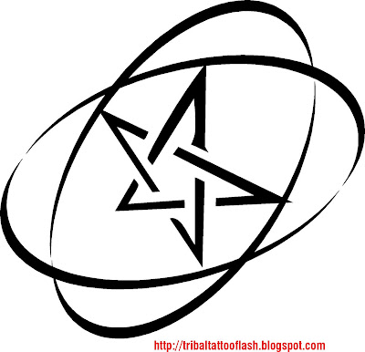 Tattoo Design And Style Tattoo Celebrity Pentagram Tattoo Designs