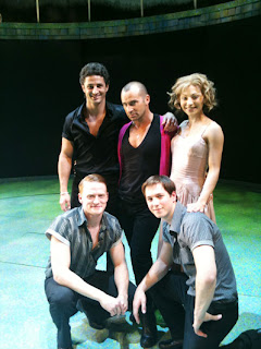 Me with the cast of Dirty Dancing