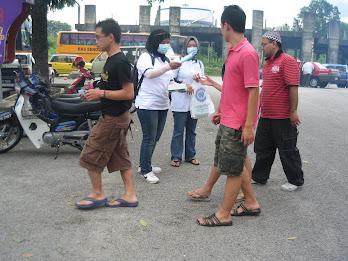 Kempen Cegah H1N1 @ Bazaar Ramadhan @ 06/09/09