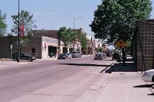 Main street of Morris mn