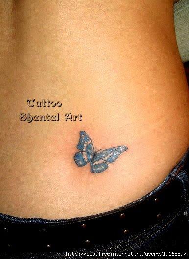Татуировки гениталий Tattooed Souls - тату на женских гениталиях