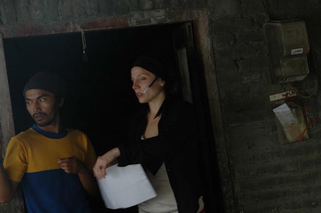 Umar-coordinateur Matahariku & Virginie-Présidente Solindo en mars 2007