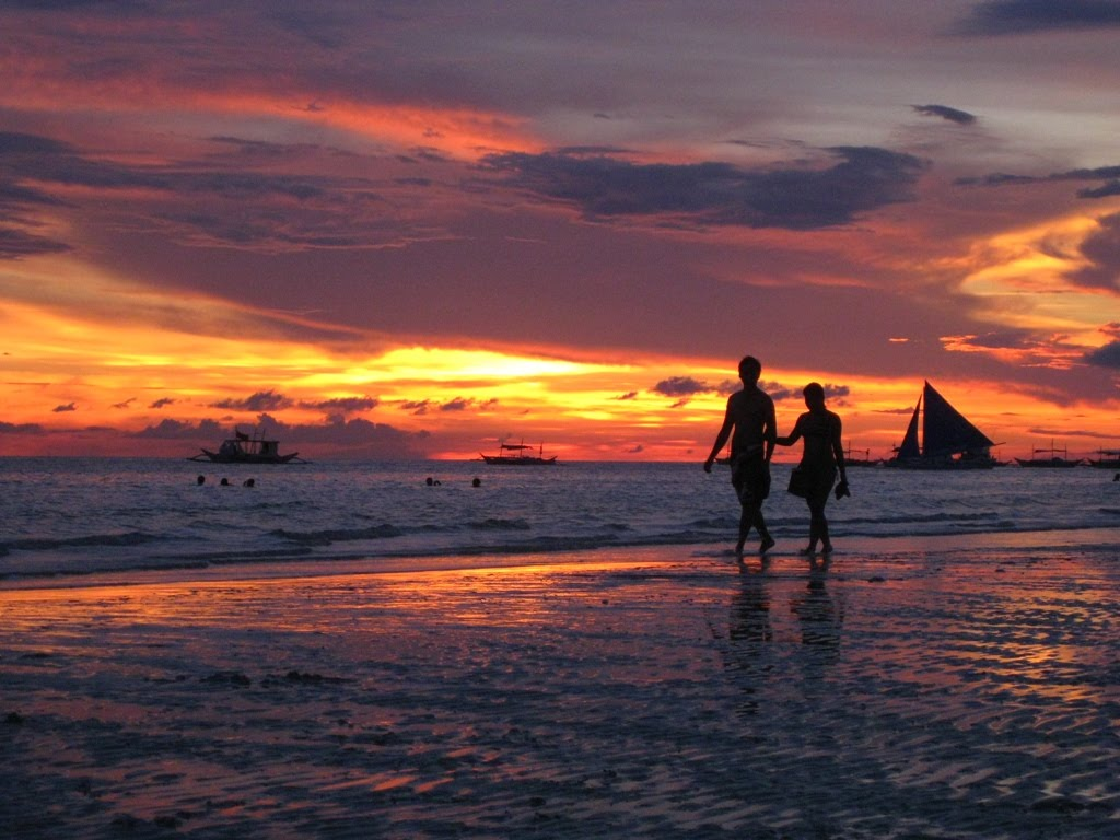 I Put a Spell on You Boracay+sunset+lovers