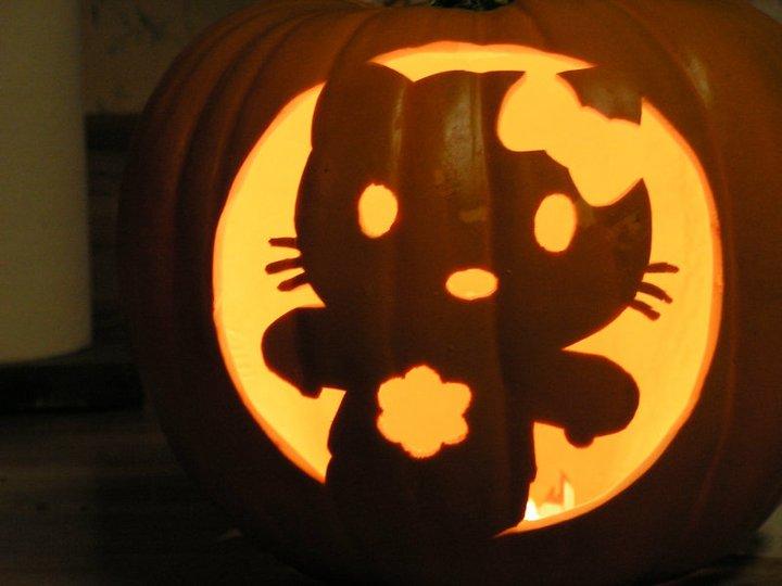 Hello kitty pumpkin cake ideas and designs