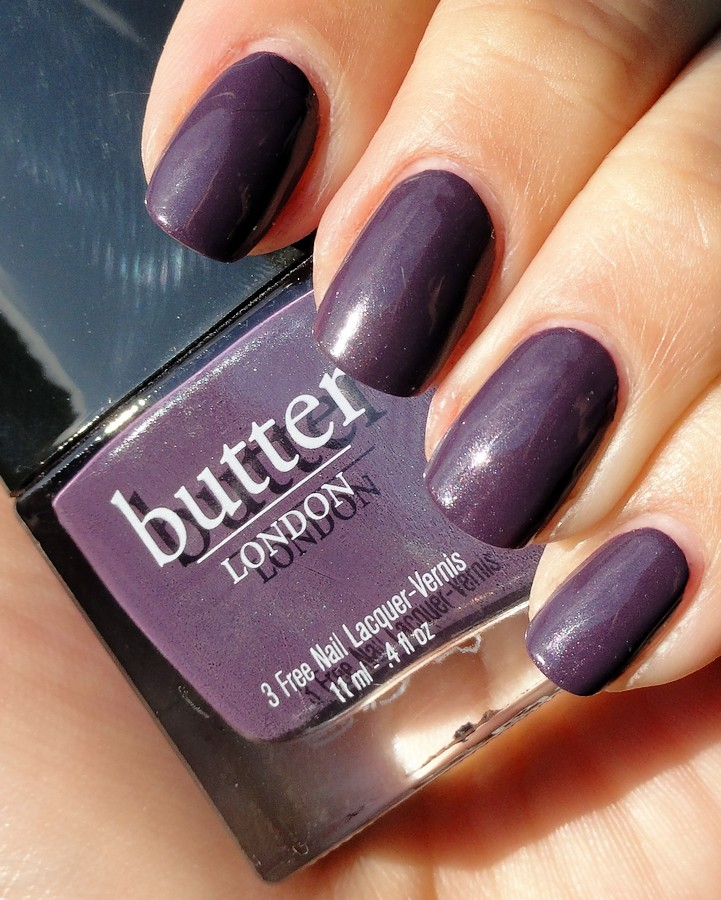 KellieGonzo: butter london marrow