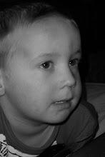 Min yngste son som snart fyller 6 år..
