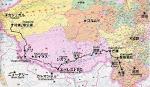 ------チベット地図-----