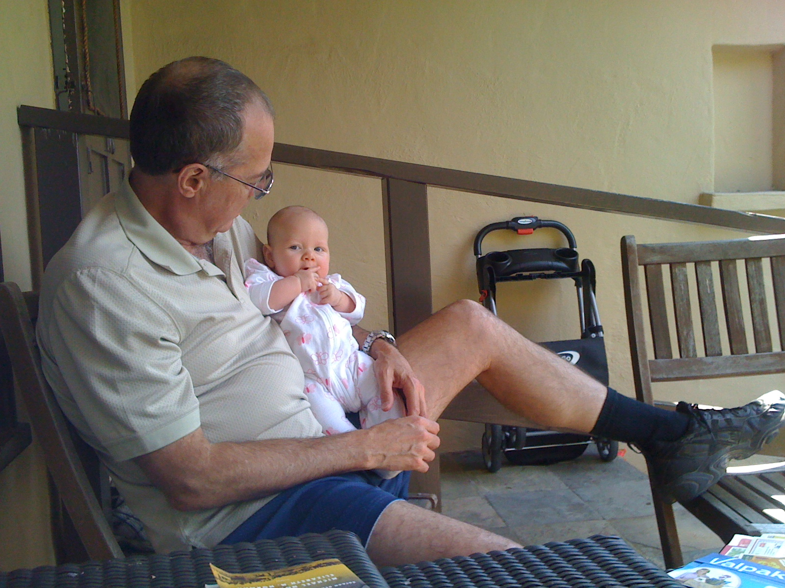 Quality time with grandpa 2