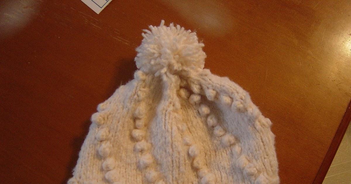 Bobble Hat Double Knitting Pattern : Cheryls Knitting: Bobble Hat Pattern