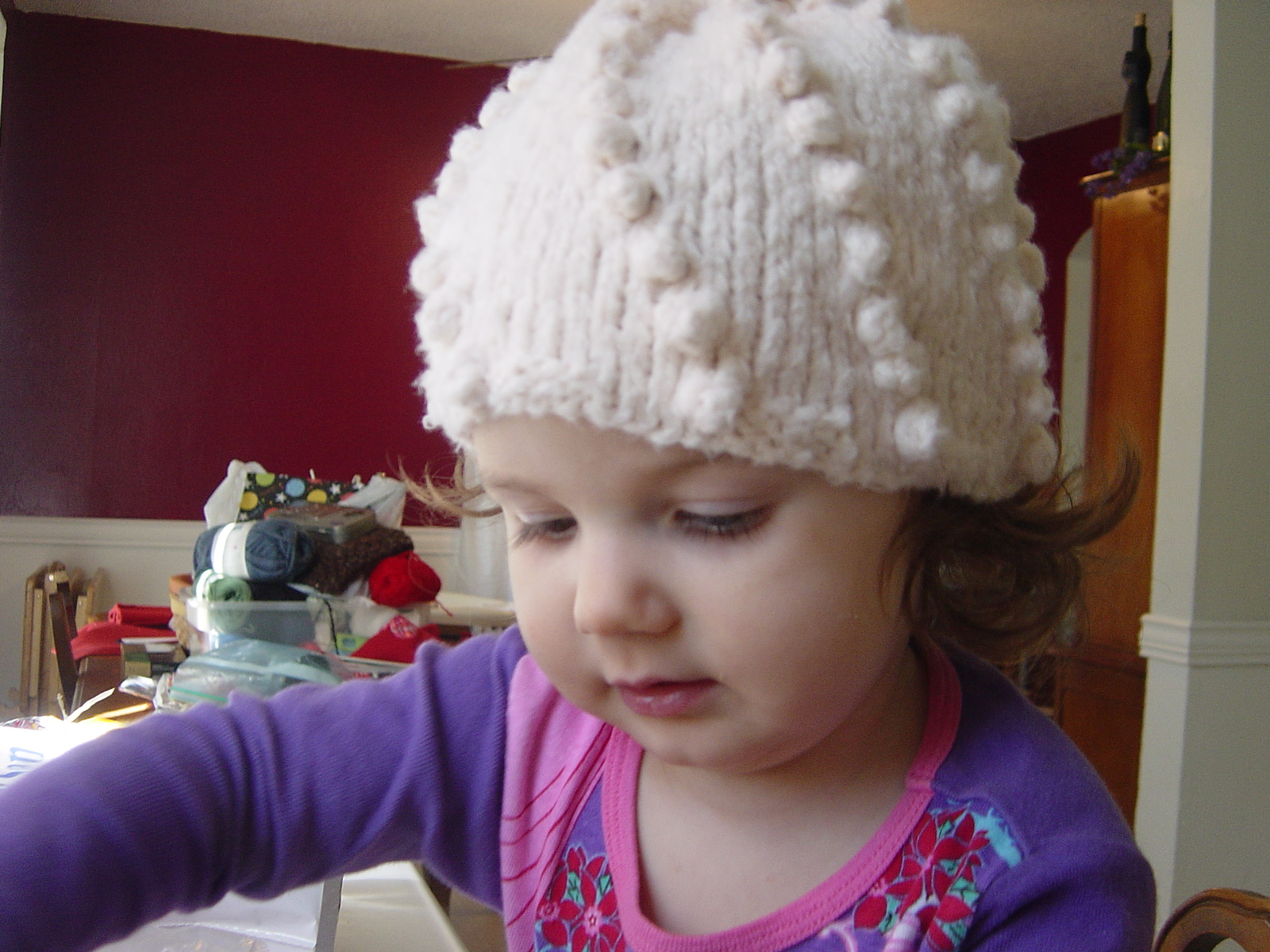 Knitting Pattern For Bobble Hat : Bobble Hat Pattern