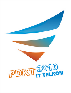 Logo PDKT IT Telkom 2010