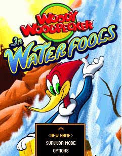 woody woodpecker java games screen shot