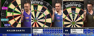 PDC World Darts Championship 2010 java games picture