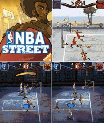 NBA Street 3D java games picture