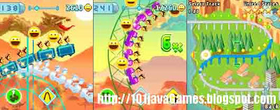 Rollercoaster java game