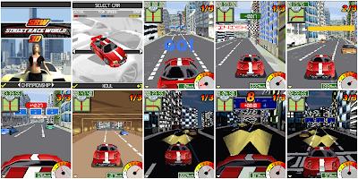Street Race World java game screenshoot