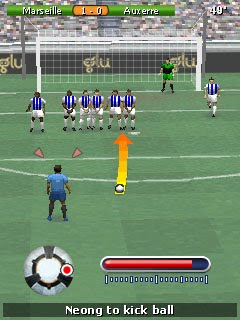 Glu sai na frente com Play Football 2011 3D