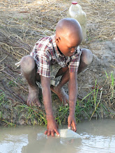 Typical drinking water in Haiti