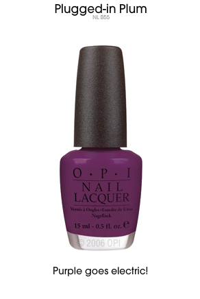 "THE POLISH: ""Plugged-in Plum"""