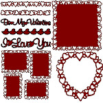 Hearts Galore files at Paperthreads